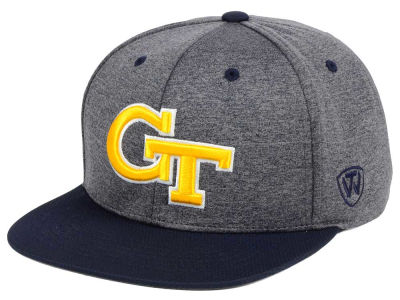 Georgia-Tech Top of the World NCAA Dark Energy 2Tone Snapback Cap