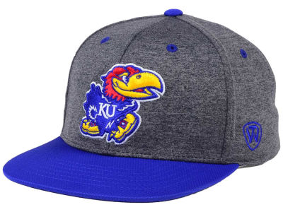 Kansas Jayhawks Top of the World NCAA Dark Energy 2Tone Snapback Cap