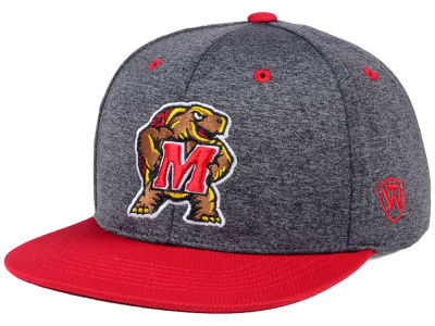 Maryland Terrapins Top of the World NCAA Dark Energy 2Tone Snapback Cap