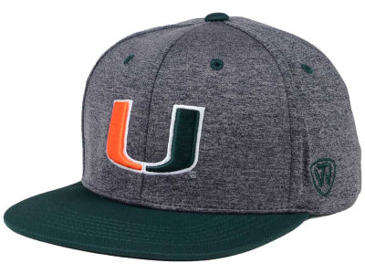 Miami Hurricanes Top of the World NCAA Dark Energy 2Tone Snapback Cap