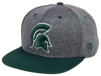 Michigan State Spartans Top of the World NCAA Dark Energy 2Tone Snapback Cap
