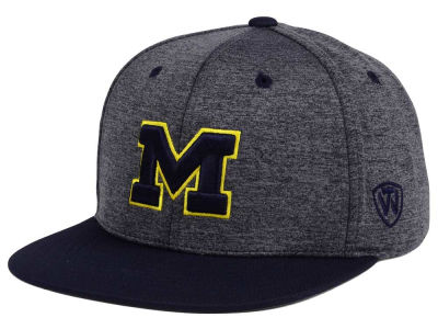 Michigan Wolverines Top of the World NCAA Dark Energy 2Tone Snapback Cap