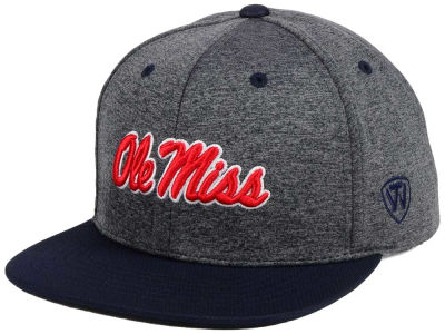 Ole Miss Rebels Top of the World NCAA Dark Energy 2Tone Snapback Cap