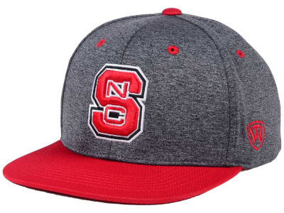 North Carolina State Wolfpack Top of the World NCAA Dark Energy 2Tone Snapback Cap