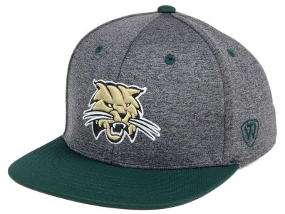 Ohio Bobcats Top of the World NCAA Dark Energy 2Tone Snapback Cap