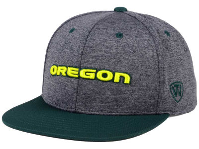 Oregon Ducks Top of the World NCAA Dark Energy 2Tone Snapback Cap