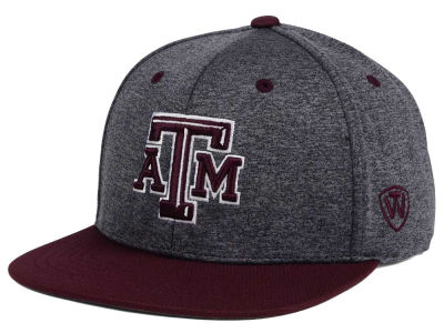 Texas A&M Aggies Top of the World NCAA Dark Energy 2Tone Snapback Cap