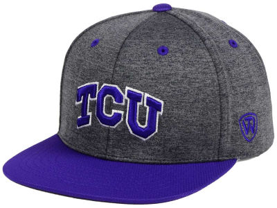 Texas Christian Horned Frogs Top of the World NCAA Dark Energy 2Tone Snapback Cap