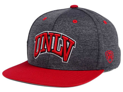 UNLV Runnin Rebels Top of the World NCAA Dark Energy 2Tone Snapback Cap