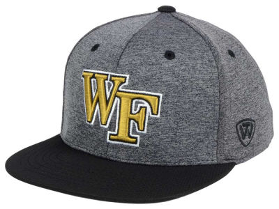 Wake Forest Demon Deacons Top of the World NCAA Dark Energy 2Tone Snapback Cap