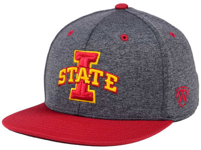 Iowa State Cyclones Top of the World NCAA Dark Energy 2Tone Snapback Cap