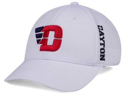 Dayton Flyers Top of the World NCAA White Booster Cap