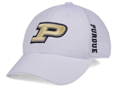 Purdue Boilermakers Top of the World NCAA White Booster Cap