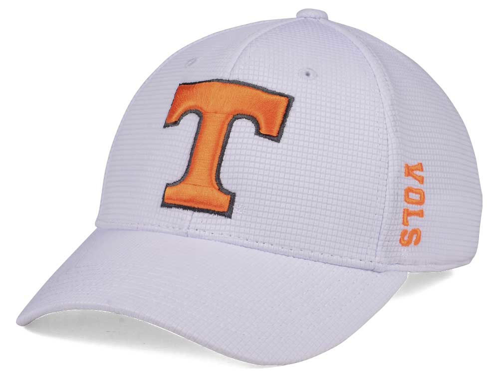 half off 46966 5dcd2 ... sweden tennessee volunteers top of the world ncaa white booster cap  lids 8ab91 ff466