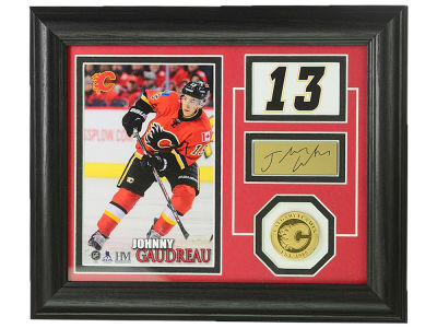 Calgary Flames Johnny Gaudreau 10x12 Player Pride Photo Mint