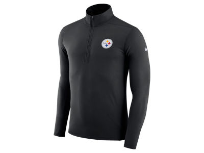 Pittsburgh Steelers Nike NFL Men's Element Quarter Zip Pullover