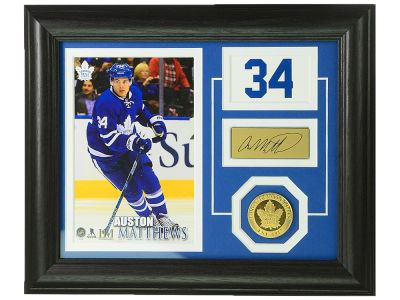 Toronto Maple Leafs Auston Matthews 10x12 Player Pride Photo Mint