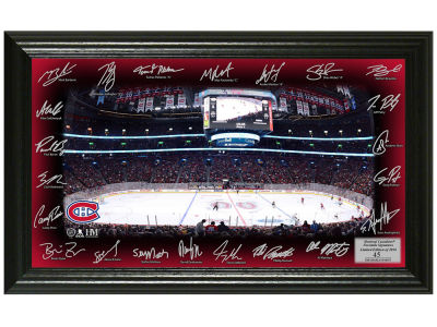 Montreal Canadiens 12x20 Signature Rink Mint