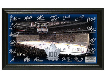 Toronto Maple Leafs 12x20 Signature Rink Mint
