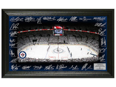Winnipeg Jets 12x20 Signature Rink Mint