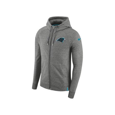 Carolina Panthers Nike 2017 NFL Men's Full Zip Hoodie