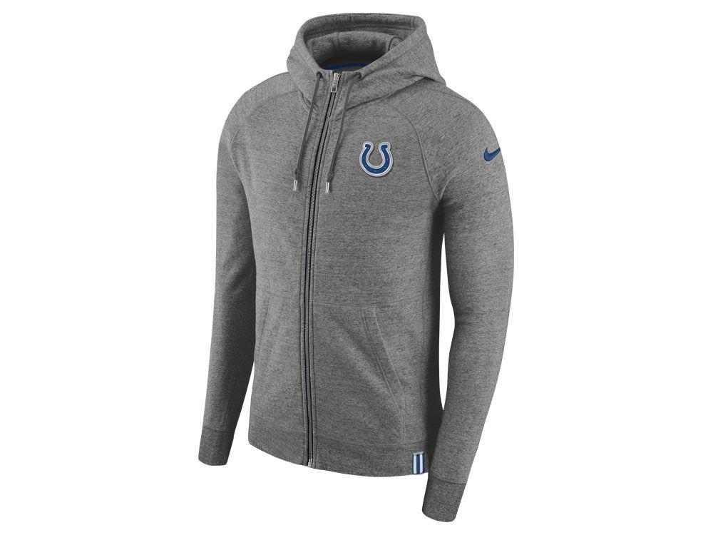 Nike Indianapolis Colts NFL Men's Full-Zip Hoodie
