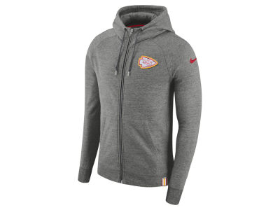 Kansas City Chiefs Nike 2017 NFL Men's Full Zip Hoodie
