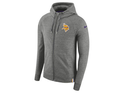 Minnesota Vikings Nike 2017 NFL Men's Full Zip Hoodie