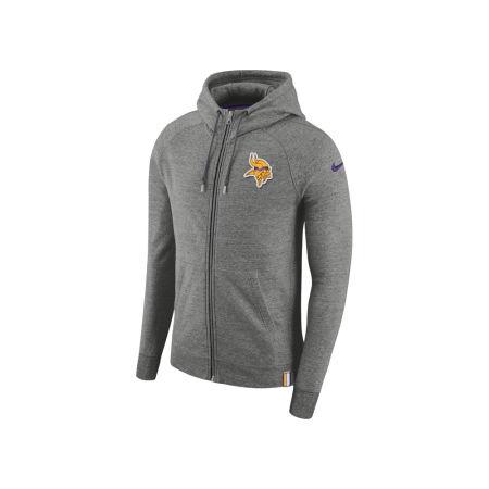 Minnesota Vikings Nike 2017 NFL Men's Full Zip Hoodie