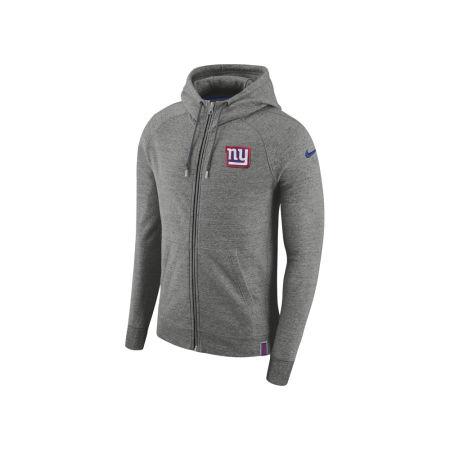 New York Giants Nike 2017 NFL Men's Full Zip Hoodie