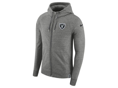 Oakland Raiders Nike 2017 NFL Men's Full Zip Hoodie