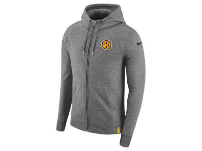 Pittsburgh Steelers Nike 2017 NFL Men's Full Zip Hoodie