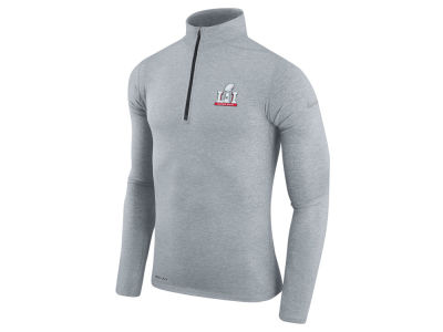 Super Bowl LI Nike NFL Men's Super Bowl LI Element 1/4 Zip Pullover