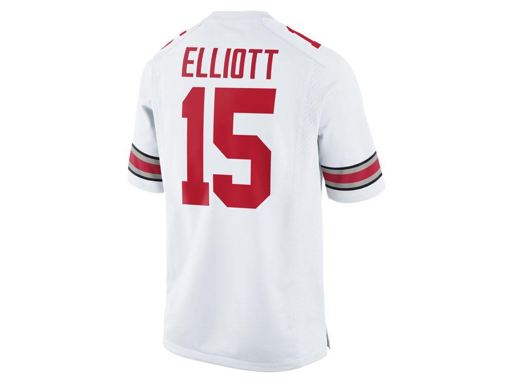Ohio State Buckeyes Ezekiel Elliott Nike NCAA Men s Player Game Jersey  374bcfc51
