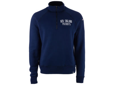 New England Patriots NFL Men's Gamebreak 1/4 Zip Pullover