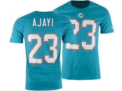 Miami Dolphins Jay Ajayi Nike NFL Men's Pride Name and Number T-Shirt