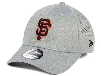 San Francisco Giants New Era MLB Heathered Perf Patch 39THIRTY Cap