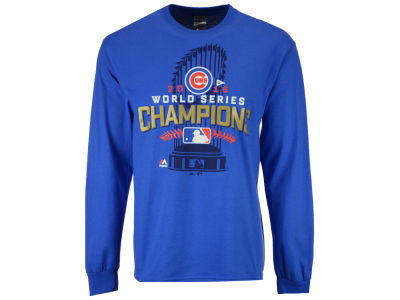 Chicago Cubs MLB Men's 2016 World Series Champ Locker Room Long Sleeve T-Shirt