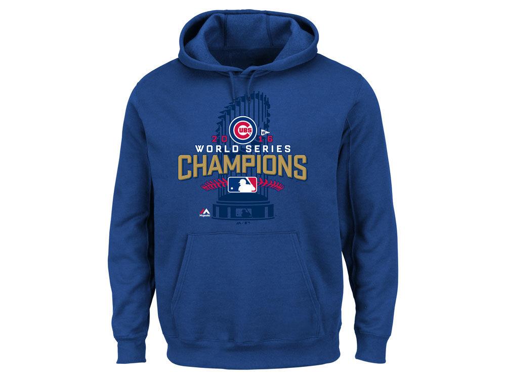 Chicago Cubs MLB Men s 2016 World Series Champs Locker Room Hoodie ... e10d618e3