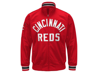 Cincinnati Reds G-III Sports MLB Men's Contender Track Jacket