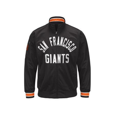 San Francisco Giants G-III Sports MLB Men's Contender Track Jacket