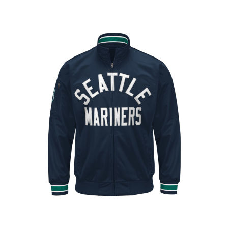 Seattle Mariners G-III Sports MLB Men's Contender Track Jacket