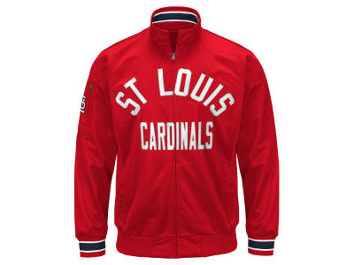 St. Louis Cardinals G-III Sports MLB Men's Contender Track Jacket