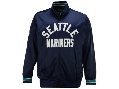 Seattle Mariners G-III Sports MLB Men's Contender Track Jacket 3X