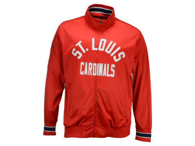 St. Louis Cardinals G-III Sports MLB Men's Contender Track Jacket 3X
