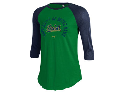 Notre Dame Fighting Irish Under Armour NCAA Women's UA Raglan T-Shirt