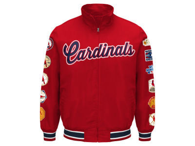 St. Louis Cardinals G-III Sports MLB Men's Victory Commemorative Jacket