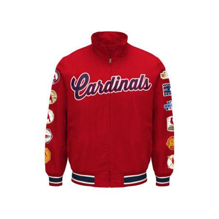 St. Louis Cardinals G-III Sports MLB Men's Victory Commemorative Jacket