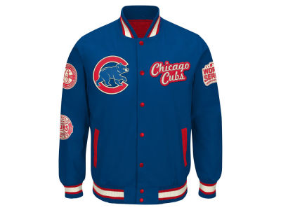Chicago Cubs GIII MLB Men's World Champs Commemorative Jacket