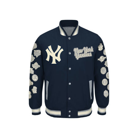 New York Yankees G-III Sports MLB Men's World Champs Commemorative Jacket